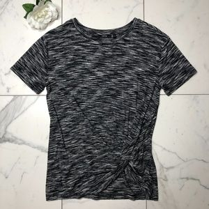 Apt. 9 . Knotted Front T-Shirt